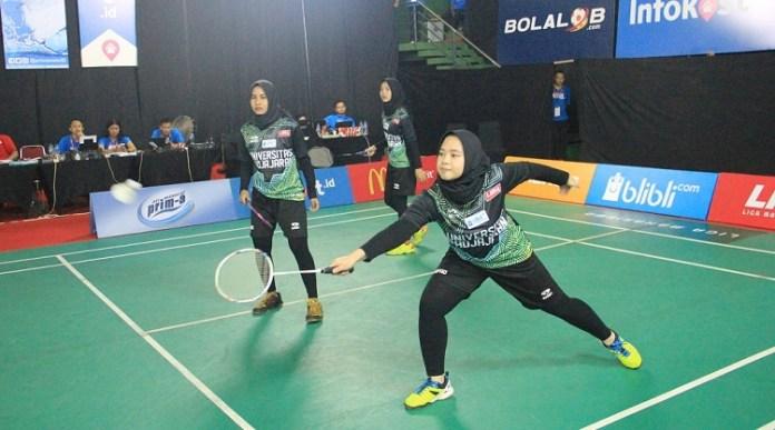 Unpad harus menyerah ditangan STKIP Pasundan yang keluar sebagai peringkat 3 LIMA Badminton: Blibli.com WJC 2018. (LIMA)