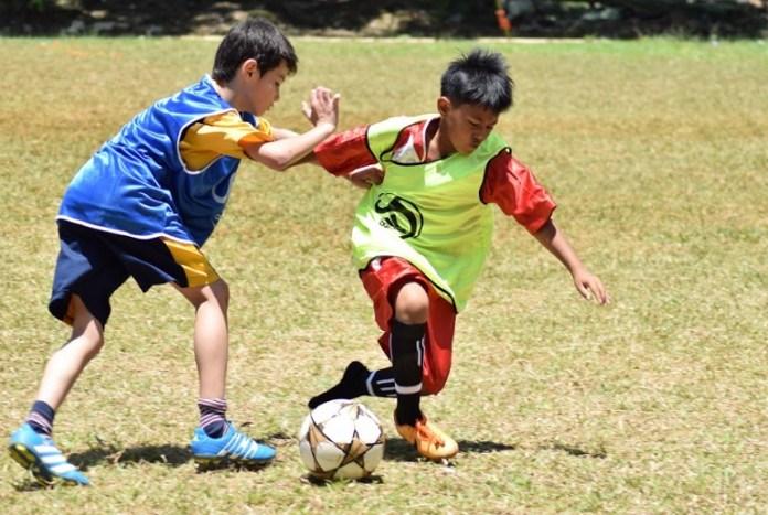 Usai melakukan launching pada Sabtu (31/3), Garuda Gemilang Soccer School kini resmi hadir di lapangan Kebon Jeruk, Jakarta Barat. (Ham/NYSN)