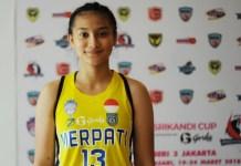 Yusranie Noory Assipalma pebasket cantik asal klub Merpati Bali yang pernah menjadi finalasi Miss Indoneisa 2016. (Pras/NYSN)