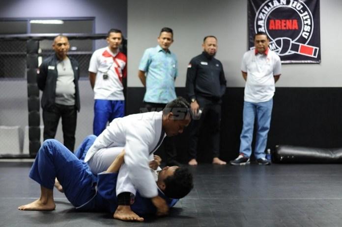 Para atlet jujitsu dipastikan harus mengikuti program seleksi dari Pengurus Besar Jujitsu Indonesia (PBJI), untuk bisa tampil di Asian Games 2018. (Pras/NYSN)