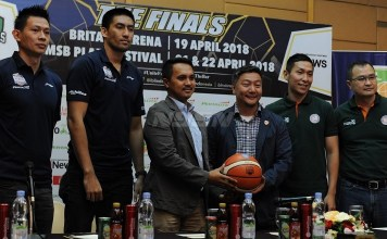 Pelita Jaya (PJ) Jakarta dan Satria Muda (PJ) Pertamina Jakarta melakoni laga final Indonesian Basketball League (IBL) Pertalite 2017-2018 yang juga ulangan partai puncak musim lalu. (Pras/NYSN)