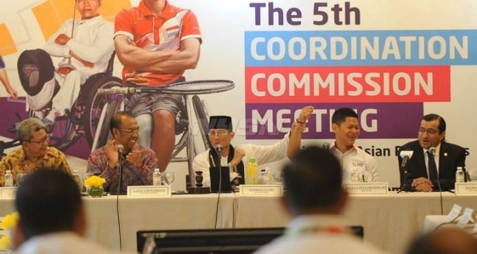 Pemerintah Provinsi (Pemprov) DKI Jakarta dan panpel APG 2018 (INAPGOC), siap gelar Test Even pada Juni, usai event Coordination Commision Meeting ke-5. (Pras/NYSN)