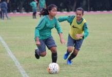 Timnas Putri U-16 kini dihuni 23 orang pemain setelah melewati tiga kali uji coba, dan terus akan melakukan seleksi pemain hingga 20 April nanti. (Ham/NYSN)