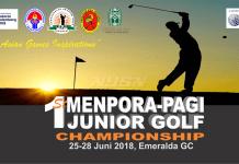 Perkumpulan Akademi Golf Indonesia (PAGI) menggelar turnamen golf Junior Piala Menteri Pemuda dan Olahraga (Menpora) Khusus, pada 25-28 Juni 2018. (pagi-golf.com)