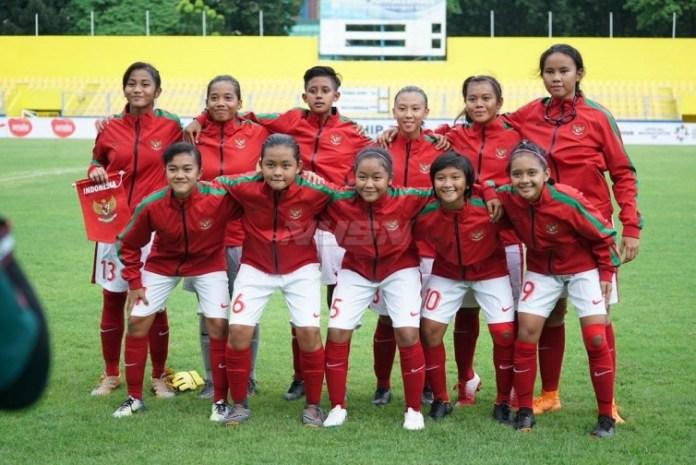Timnas Putri U-16 berada di posisi terbawah klasemen Grup B Piala AFF U-16 Girls Championship 2018. (net)