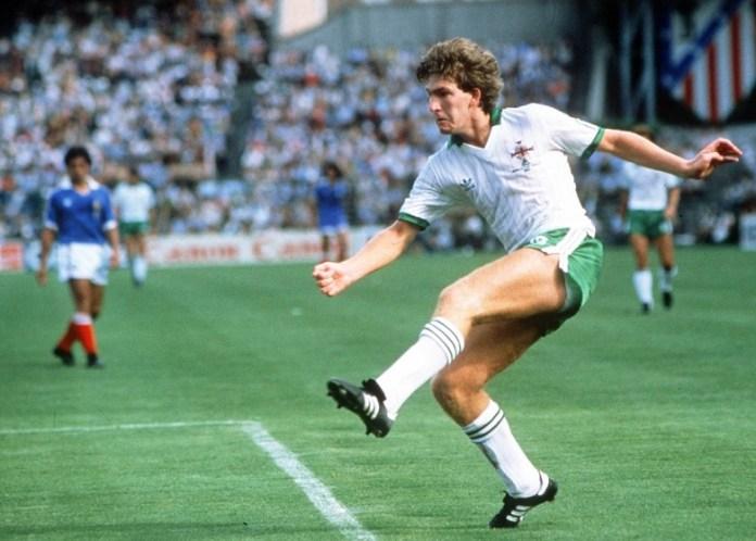 Gelandang asal Irlandia Utara, Norman Whiteside, menjadi pemain termuda yang pernah tampil dalam sejarah gelaran Piala Dunia, saat berusia 17 tahun 41 hari. (twitter.com)
