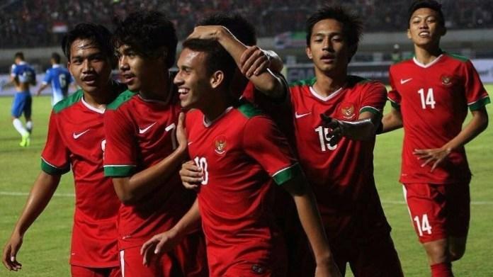 Laga Timnas U-19 menjadi salah satu laga yang diinginkan panpel AFF U-18 tampil di Stadion Gelora Joko Samudro di Gresik. (tribunnews.com)