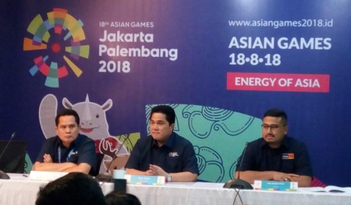 Panitia Pelaksana Asian Games 2018 yakin, lebih dari satu juta tiket terjual untuk menyaksikan pertandingan. (Adt/NYSN)
