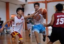 Tim basket putra Sekolah Kharisma Bangsa (SMABA), mengelar training camp (TC) jelang kejuaraan dunia basket antar Sekolah Menengah Atas (SMA), di Paris, Perancis. (Adt/NYSN)