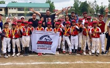 Tim Bisbol Indonesia U-10 yang diwakili tim Garuda Baseball Softball Club (GBSC), meraih poisisi runner up di PONY Baseball and Softball Asia Pasific di Filipina. (istimewa)