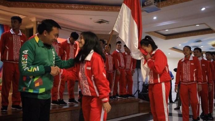 Indonesia akan mengikuti ASEAN School Games (ASG) X 2018 di Malaysia, 19 hingga 27 Juli 2018 di Shah Alam, Selangor dan Kuala Lumpur, beserta 10 negara anggota yang tergabung dalam Asean Schools Sports Council (ASSC). (Kemenpora)