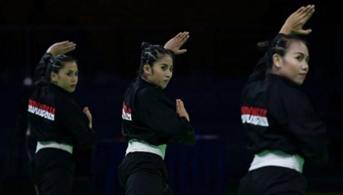 Indonesia memasukkan pencak silat sebagai cabang olahraga pilihan dalam gelaran ASEAN School Games (ASG) pada Juli 2019, di kota Semarang, Jawa Tengah. (tempo.co)
