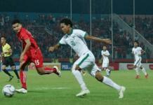 Seluruh gol yang dicetak Amiruddin Bagus Kahfi dilakukan dari dalam kotak penalti. Bagus pun rata-rata mencetak 2,2 gol per pertandingan fase grup Piala AFF U-16 2018. (Goal.com)