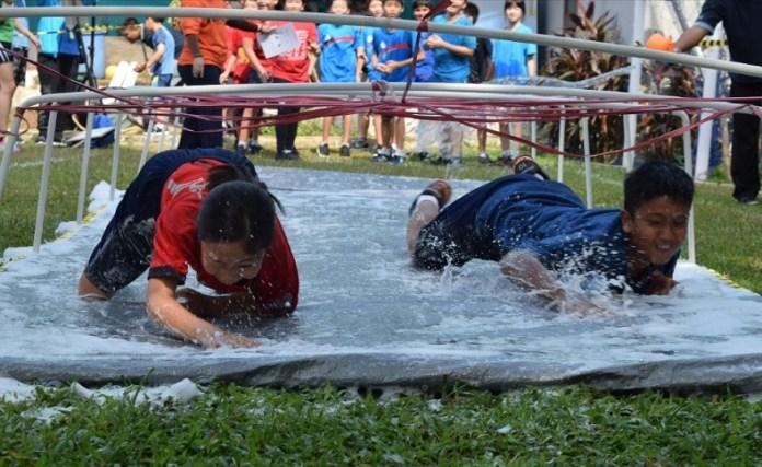 Singapore Intercultural School (SIS) Bona Vista, yang terletak di Lebak Bulus, Cilandak, Jakarta Selatan, melakukan kegiatan antara orangtua dan siswa baru, dibidang olahraga dan non olahraga. Agenda tahunan ini rutin dilakukan demi menjaga spirit kedekatan komunitas SIS Bona Vista. (SIS Bona Vista)