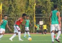 Timnas U-19 kembali melaksanakan program pemusatan latihan (TC), jelang even Piala Asia U-19, di Lapangan UNY, Yogyakarta, sejak Minggu (12/8) hingga akhir Agustus. (radarjogja.co.id)
