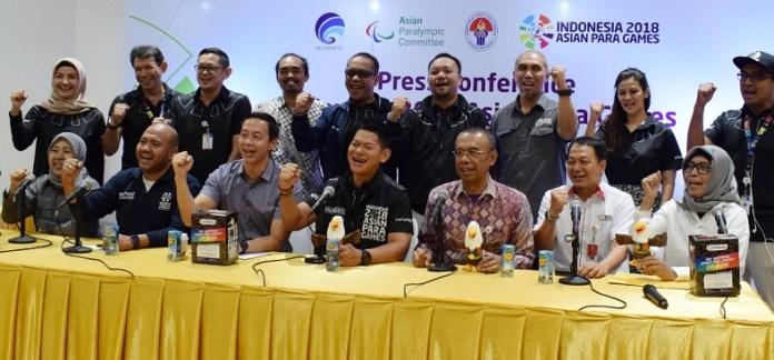 Panitia Pelaksana Indonesia 2018 Asian Para Games (INAPGOC) menjanjikan acara opening ceremony pesta multievent terbesar bagi atlet penyandang disabilitas se-Asia, pada 6 Oktober, tak kalah meriah dengan Asian Games 2018. (Pras/NYSN)