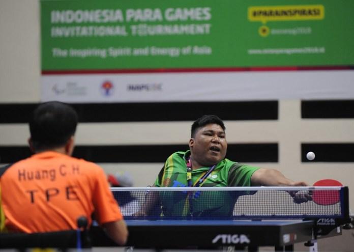 Indonesia membidik posisi enam besar dengan target 17 medali emas, dalam Asian Para Games III/2018, pada 6-13 Oktober. Cabang olahraga seperti tenis meja, atletik, catur, bulutangkis, renang, menjadi unggulan untuk mendulang medali emas. (Pras/NYSN)