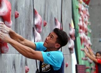 Sebanyak 300 atlet mengikuti Kejuaraan Nasional (Kejurnas) Panjat Tebing Kelompok Umur (KU) XII 2018, siap dihelat di Pematang Reba, Rengat, Kabupaten Indragiri Hulu (Inhu), Riau pada 22-29 September 2018. (FPTI)