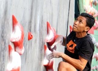 Kejuaraan Nasional (Kejurnas) Kelompok Umur (KU) XIII/2018, Kategori Lead Junior (18-19 tahun) Putra, akhirnya masih dikusai Seto, atlet junior skuat tim nasional asal asal Daerah Istimewa Yogyakarta (DIY). (FPTI)