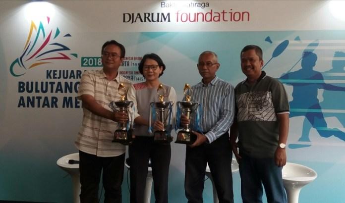 Kejuaraan Bulutangkis Antar Media 2018 siap dihelat yang akan memperebutkan total hadiah Rp 177 juta, dimana grand final akan berlangsung di GOR Jati, Kudus, Jawa Tengah, pada 28-29 November 2018. (Adt/NYSN)