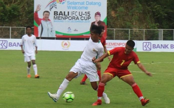 Gebuk Lawan 8-1, Timnas Pelajar U-15 Lolos Rintangan Pertama Bali IFC