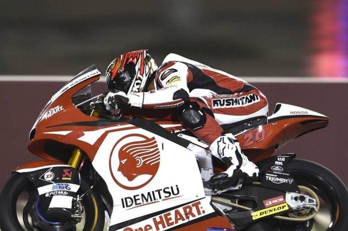 Dimas Ekky Pratama di Moto2 Qatar