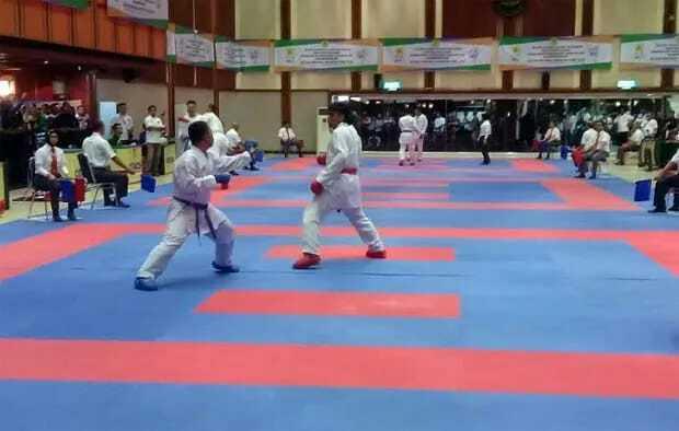 Karateka DKI Jakarta mendominasi seleknas tahap pertama PB Forki bertajuk Rimbawan Indonesia Karate-Do Championship 2019, pada 28-29 Maret. (Istimewa)