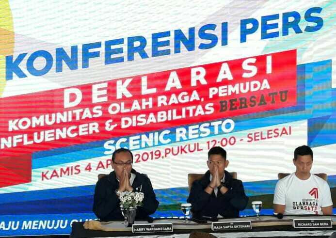 Legenda olahraga bersatu untuk memberi dukungan kepada Joko Widodo-Ma'ruf Amin demi memwujudkan impian Indonesia sebagai tuan rumah Oliampiade 2032.
