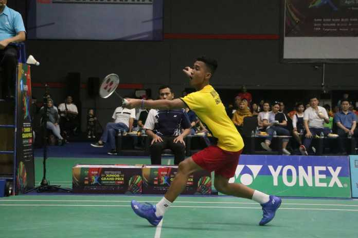 Pebulutangkis tunggal putra Jaya Raya U-17 Muhammad Sultan Nurhabibu sukses meraih medali emas Pembangunan Jaya Raya Yonex Sunrise Grand Prix 2019. (Istimewa)