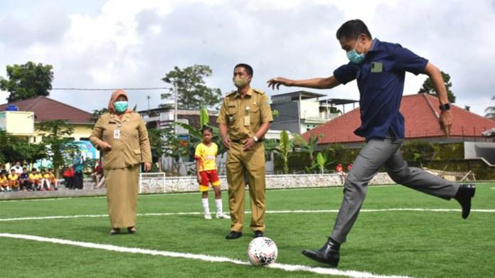 Pemkot Salatiga Mulai Jalankan Program Satu Kelurahan Satu Lapangan Sepak Bola