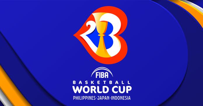 Drawing FIBA Basketball World Cup 2023.