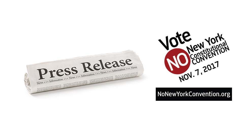Press Release Vote No on Constitutional Convention