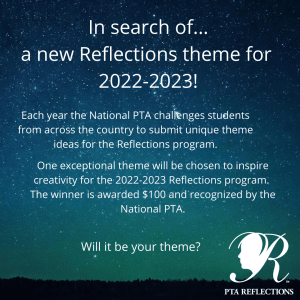2022-2023 Reflection - Search for Theme