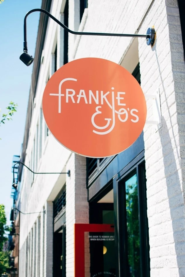 Frankie and Jo's - the newest, hottest (or coolest?) ice cream shop in Seattle, and for damn good reason. The hype IS all it's made out to be, friends. Frankie and Jo's makes ice cream shops seem like the best new thing all over again AND reminds us of why we fell in love with them in the first place. Besides being a company that you wholeheartedly want to stand behind, they have also totally nailed that illusive perfect plant based scoop.