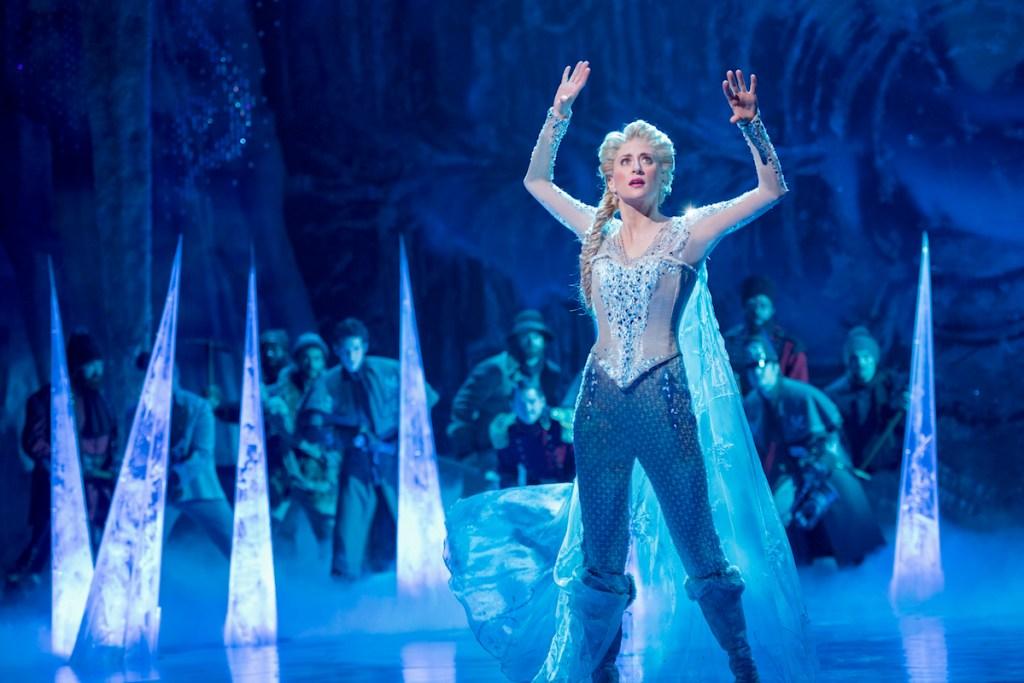Caissie Levy in </I>Frozen</I>. Photo: Deen van Meer