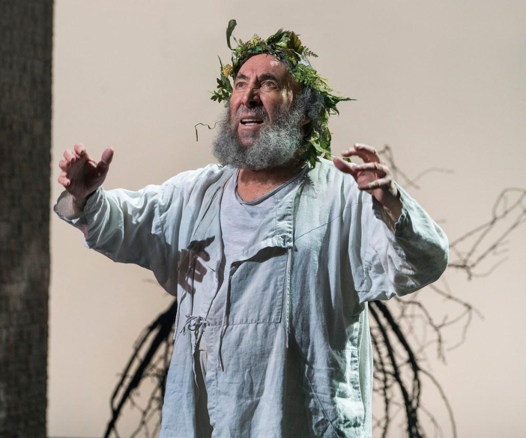 Antony Sher as King Lear. Photo: Richard Termine