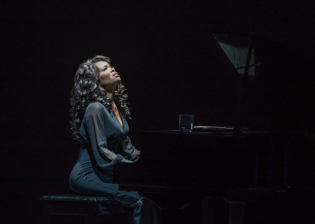 """LaChanze plays """"Diva Donna"""" in <i>Summer: The Donna Summer Musical.</i>. Photo: Joan Marcus."""