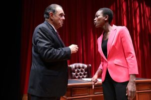 The Originalist:  Antonin Scalia v. a Liberal Clerk With Hot Results