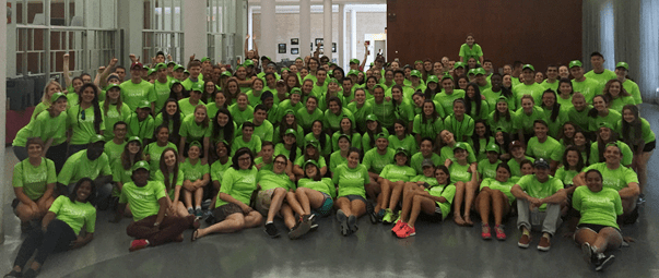 Fordham students