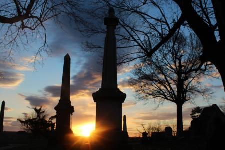 Oakwood Cemetery by Abigail