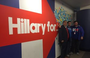 NYSYD at Hillary for America Headquarters