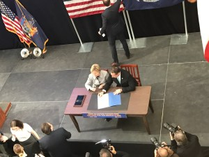 Governor Andrew Cuomo Signing the Excelsior Scholarship Bill
