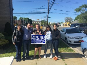 NYSYD Canvassing for Christine Pellegrino