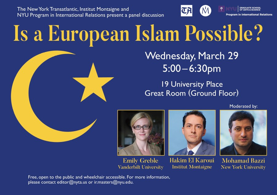 Is a European Islam Possible?