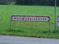 Hollænderskovskilt