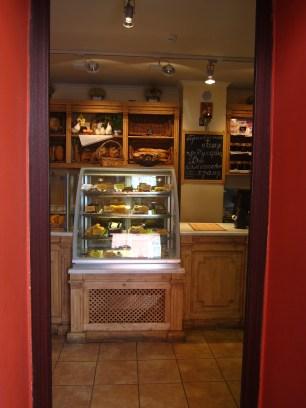 La panadería arriba