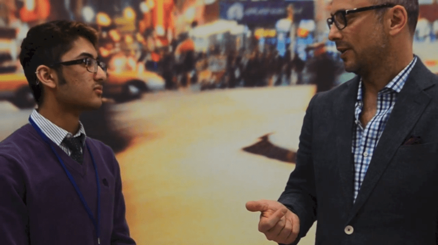 [VIDEO] WSN interviews Jeff Dachis at NYUEF
