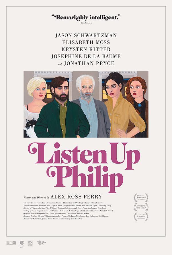 """Jason Schwartzman plays the titular in """"Listen Up Philip."""""""