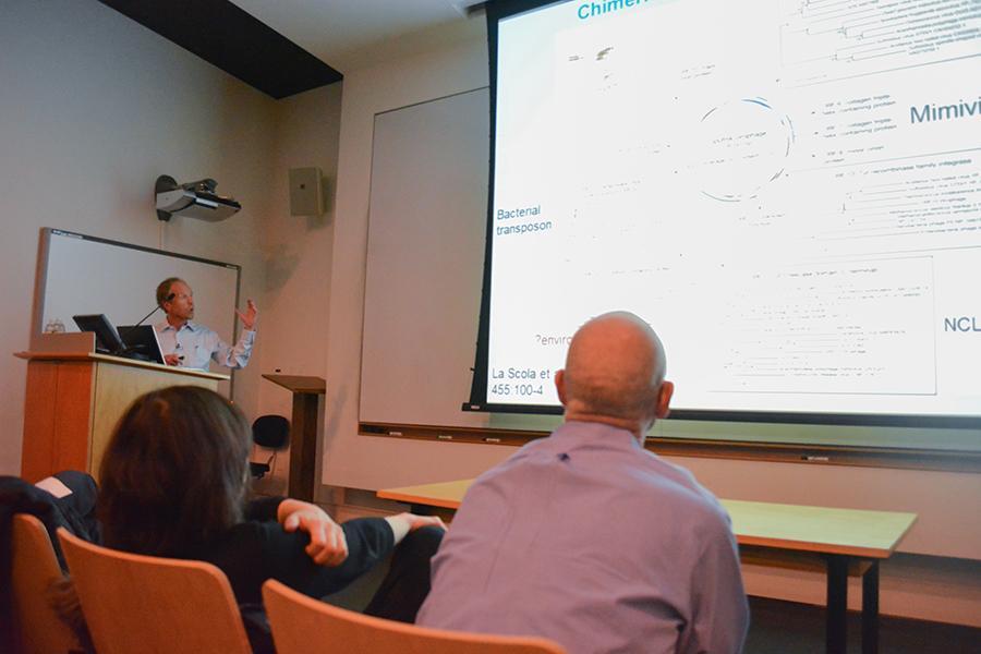 Eugene Koonin talks on Darwin day about the evolution and evolutionary impact of viruses on larger organisms.