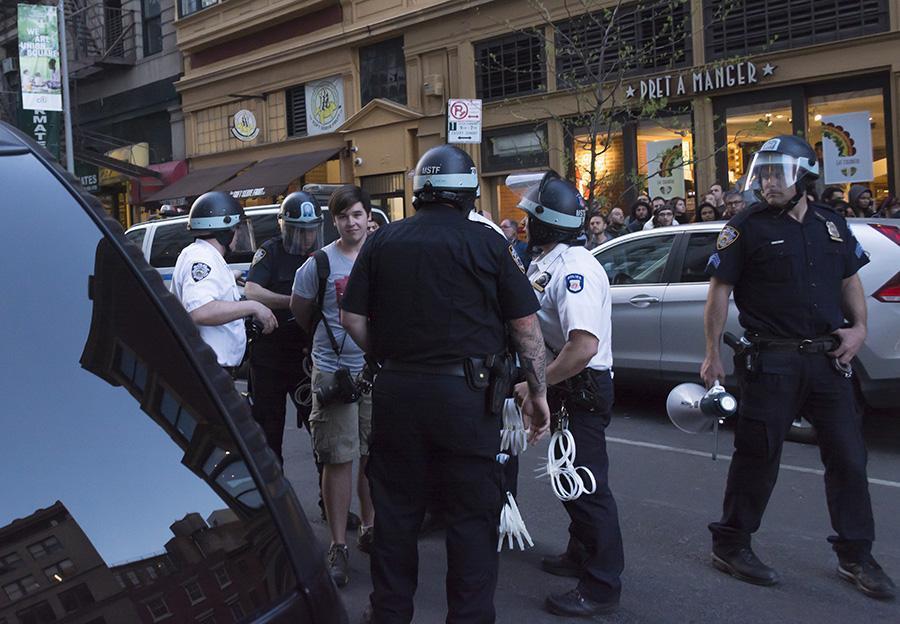 Photo editor Sam Bearzis arrest.